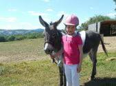 équitation enfant le Bô