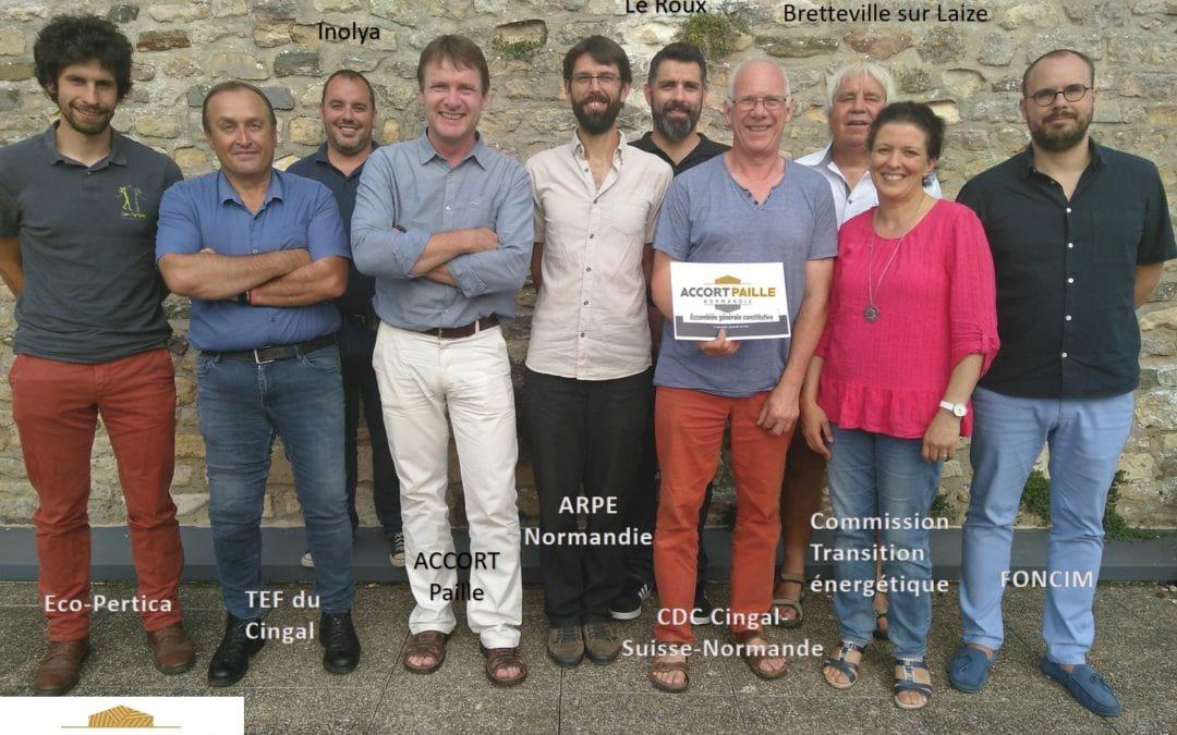 Une isolation biosourcée en Cingal Suisse Normande