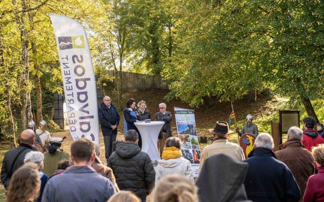 Retour en images sur l'inauguration officielle des aménagements du site de Château Ganne à La Pommeraye