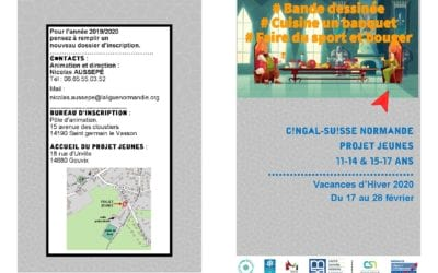 Vacances février 2020 : Projet jeunes à Gouvix