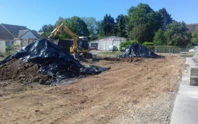 Construction d'une école maternelle et réhabilitation de l'école élémentaire du Groupe scolaire des Rouges Terres à Saint-Rémy-sur-Orne