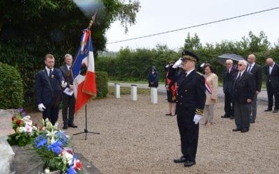 Retour sur la cérémonie du 5 juillet au Monument de Saint-Clair à Donnay