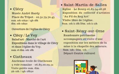 Les Journées Européennes du Patrimoine, c'est ce week-end !