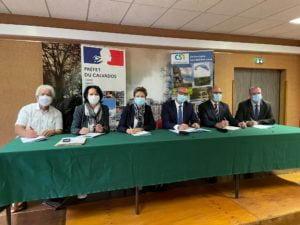 Signature de la convention d'adhésion « Petites villes de demain »