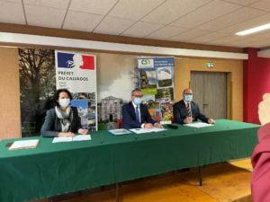 Signature du « CRTE » du Cingal Suisse Normande le 9 juillet